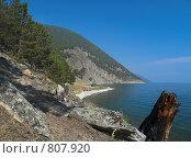 Купить «Озеро Байкал. Восточный берег острова Ольхон», фото № 807920, снято 6 сентября 2007 г. (c) Andrey M / Фотобанк Лори