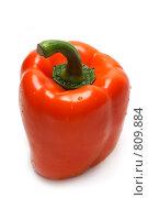 Купить «Оранжевый болгарский перец», фото № 809884, снято 7 марта 2009 г. (c) Руслан Кудрин / Фотобанк Лори
