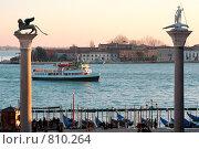 Купить «Корабль, Piazetta San Marco, Венеция», фото № 810264, снято 30 января 2009 г. (c) Оксана Кацен / Фотобанк Лори