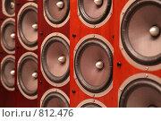 Купить «Музыкальные колонки», фото № 812476, снято 18 июля 2018 г. (c) Losevsky Pavel / Фотобанк Лори