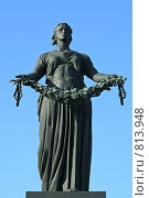 Купить «Монумент «Родина-Мать». Пискаревское мемориальное кладбище. Санкт-Петербург», фото № 813948, снято 25 мая 2008 г. (c) Ольга Красавина / Фотобанк Лори