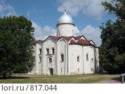 Купить «Новгород, Церковь Иоанна Предтечи на Опоках», фото № 817044, снято 12 июня 2007 г. (c) Vladimir Rogozhnikov / Фотобанк Лори