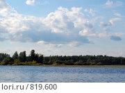 Купить «Река Малога в тверской области», фото № 819600, снято 1 августа 2008 г. (c) Елена Азарнова / Фотобанк Лори