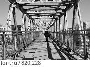 Виадук над железной дорогой. Стоковое фото, фотограф Татьяна Vikkerkaar / Фотобанк Лори