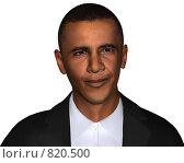 Купить «Барак Обама», иллюстрация № 820500 (c) Alperium / Фотобанк Лори