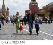 Купить «Москва. Красная площадь», эксклюзивное фото № 823140, снято 18 мая 2008 г. (c) lana1501 / Фотобанк Лори