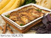 Купить «Мясо, запеченное с бананами и специями», фото № 824376, снято 21 октября 2007 г. (c) Елена А / Фотобанк Лори