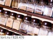 Купить «Баночки со специями», фото № 828476, снято 22 июня 2006 г. (c) Юлия Сайганова / Фотобанк Лори