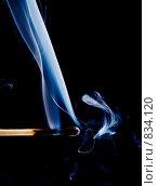 Купить «Дым от погасшей спички», фото № 834120, снято 21 января 2018 г. (c) Александр Fanfo / Фотобанк Лори