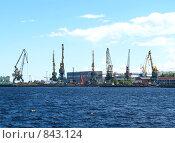Купить «Петрозаводская судоверфь», фото № 843124, снято 28 июня 2008 г. (c) Ноева Елена / Фотобанк Лори
