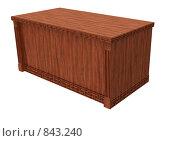 Купить «Стол в классическом стиле», иллюстрация № 843240 (c) Наталия Печёрских / Фотобанк Лори