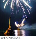 Купить «Фейерверк», фото № 843544, снято 24 августа 2008 г. (c) Павел Вахрушев / Фотобанк Лори