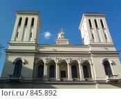 Купить «Немецкая протестантская церковь святого Петра», фото № 845892, снято 4 мая 2009 г. (c) Морковкин Терентий / Фотобанк Лори
