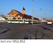 Купить «Автовокзал города Павловский Посад», фото № 852852, снято 26 апреля 2009 г. (c) Ярославский Максим / Фотобанк Лори