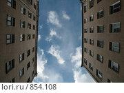 Купить «Город. Небо.», фото № 854108, снято 21 апреля 2009 г. (c) Кочеткова Галина / Фотобанк Лори