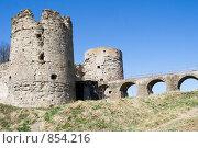 Купить «Крепость в Копорье», эксклюзивное фото № 854216, снято 2 мая 2009 г. (c) Александр Щепин / Фотобанк Лори