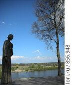 Купить «Цветаева на берегу Оки», фото № 856948, снято 10 мая 2009 г. (c) Анна Финютина / Фотобанк Лори