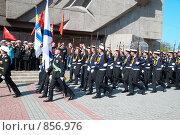 Купить «Военный парад, 9 мая 2009 года. Севастополь, Украина», фото № 856976, снято 9 мая 2009 г. (c) Павел Вахрушев / Фотобанк Лори