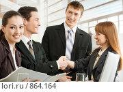 Купить «Деловые люди», фото № 864164, снято 9 марта 2009 г. (c) Константин Юганов / Фотобанк Лори
