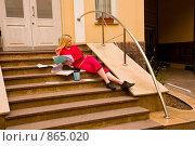 Купить «Зачетная неделя в институте», фото № 865020, снято 5 мая 2009 г. (c) Олег Тыщенко / Фотобанк Лори