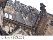 Купить «Прага. Собор Святого Витта. Снегопад», фото № 865208, снято 5 января 2009 г. (c) Лошкарев Антон / Фотобанк Лори