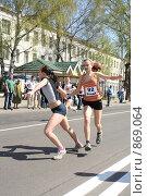 Купить «9 мая. Передача эстафеты», фото № 869064, снято 9 мая 2009 г. (c) Антон Корнилов / Фотобанк Лори