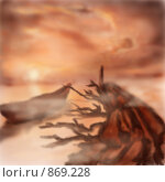 Купить «Утро», иллюстрация № 869228 (c) Усова Светлана  Юрьевна / Фотобанк Лори