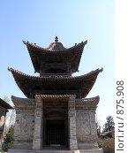 Купить «Китайская беседка», фото № 875908, снято 2 апреля 2008 г. (c) Александр Солдатенко / Фотобанк Лори