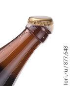 Купить «Открытая пивная бутылка», фото № 877648, снято 21 февраля 2009 г. (c) Федор Кондратенко / Фотобанк Лори