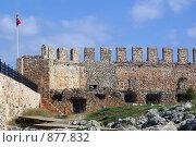 Купить «Крепостная стена», фото № 877832, снято 12 января 2009 г. (c) Валерий Шанин / Фотобанк Лори