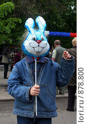 Купить «Зайчик», фото № 878800, снято 9 мая 2009 г. (c) Олег Гуличев / Фотобанк Лори