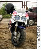 Мотоцикл Honda (2009 год). Редакционное фото, фотограф Фёдоров Евгений / Фотобанк Лори