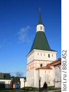 Купить «Валдай. Угловая башня Иверского монастыря», фото № 880452, снято 2 ноября 2008 г. (c) Lana / Фотобанк Лори