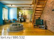 Купить «Интерьер гостиной», фото № 880532, снято 20 августа 2007 г. (c) Михаил Лукьянов / Фотобанк Лори