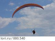 Купить «Параплан в небе», эксклюзивное фото № 880540, снято 6 мая 2009 г. (c) Яна Королёва / Фотобанк Лори