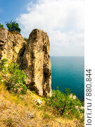Купить «Крым. Берег моря», фото № 880844, снято 29 мая 2007 г. (c) Михаил Лукьянов / Фотобанк Лори