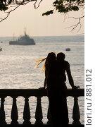 Купить «Влюбленная пара», фото № 881012, снято 2 июня 2007 г. (c) Михаил Лукьянов / Фотобанк Лори