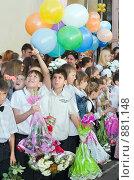 Купить «Школа. Праздник.», фото № 881148, снято 23 мая 2009 г. (c) Федор Королевский / Фотобанк Лори