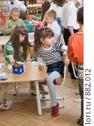 Купить «Дети в детском саду», фото № 882012, снято 5 мая 2009 г. (c) Федор Королевский / Фотобанк Лори