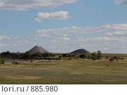 Купить «Меловые горы», фото № 885980, снято 15 сентября 2007 г. (c) Алексей Бугвин / Фотобанк Лори