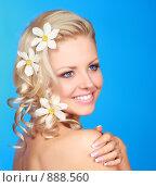 Купить «Портрет красивой девушки», фото № 888560, снято 26 мая 2009 г. (c) Серёга / Фотобанк Лори