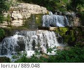 Водопад в Норвегии. Стоковое фото, фотограф Евгения Кускова / Фотобанк Лори