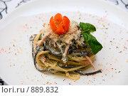 Купить «Салат со спагетти», фото № 889832, снято 21 февраля 2009 г. (c) Jan Jack Russo Media / Фотобанк Лори