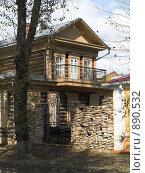 Купить «Деревянный домик, г. Иркутск», фото № 890532, снято 14 сентября 2008 г. (c) Andrey M / Фотобанк Лори