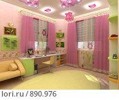 Купить «Детская комната», иллюстрация № 890976 (c) Наталия Печёрских / Фотобанк Лори