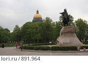 Купить «Медный всадник», фото № 891964, снято 23 мая 2009 г. (c) Михаил Фёдоров / Фотобанк Лори