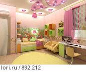 Купить «Детская комната», иллюстрация № 892212 (c) Наталия Печёрских / Фотобанк Лори