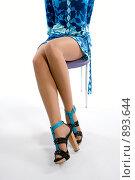 Купить «Ноги молодой девушки», фото № 893644, снято 19 мая 2008 г. (c) Михаил Лукьянов / Фотобанк Лори