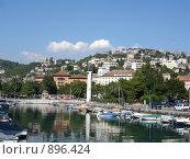 Панорама Риекки. Хорватия. Стоковое фото, фотограф Евгения Кускова / Фотобанк Лори