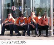 Купить «Перекур, или в рабочий полдень», фото № 902396, снято 2 июня 2009 г. (c) Александр Подшивалов / Фотобанк Лори